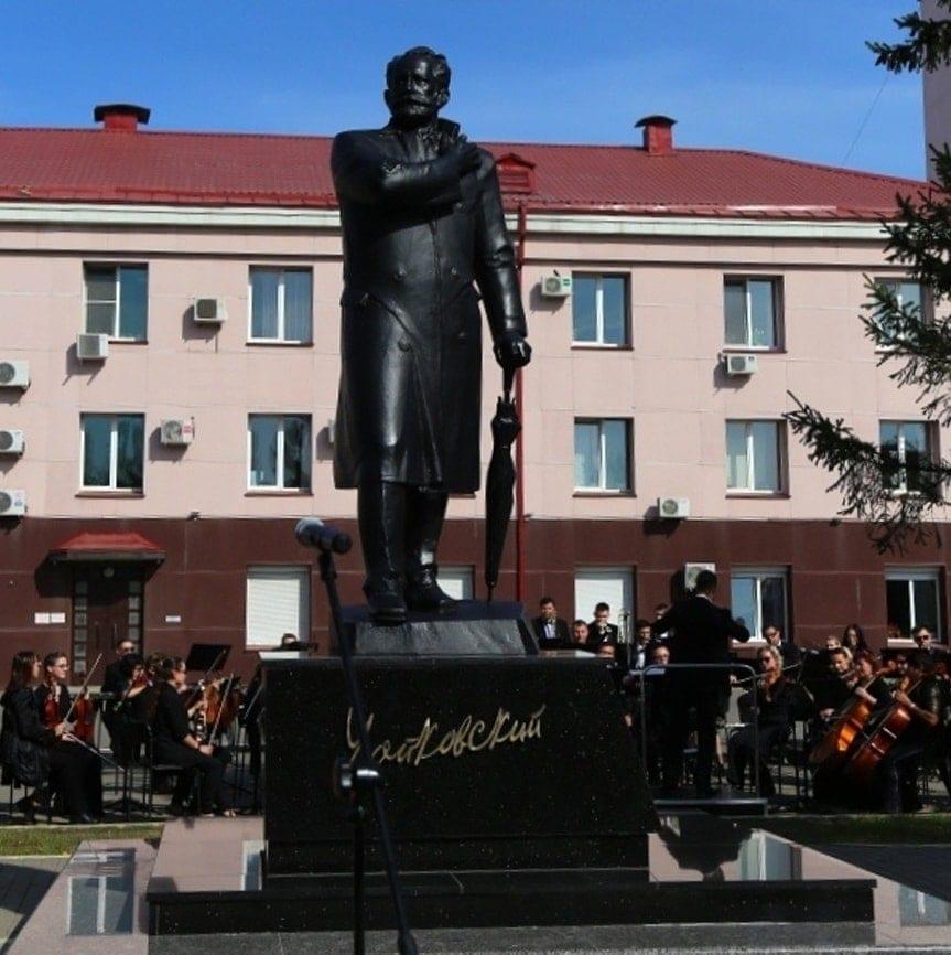 Памятник П. И. Чайковскому в Ижевске