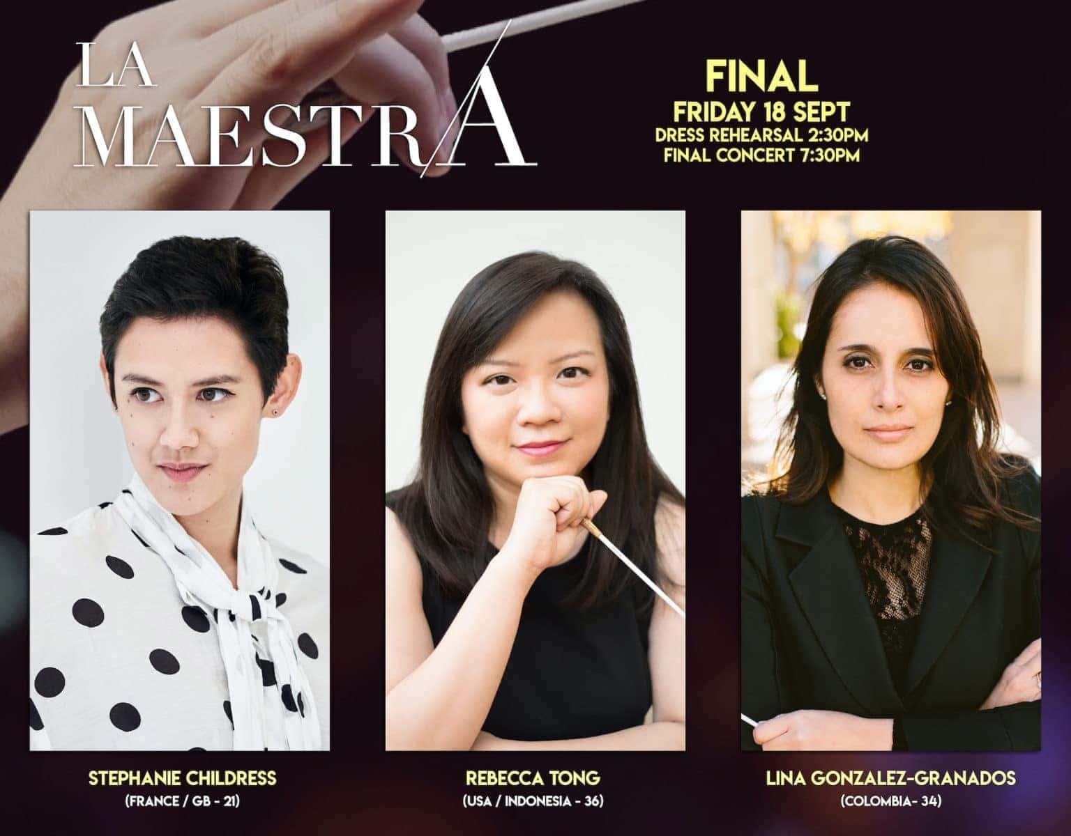 «La Maestra»: итоги первого конкурса для женщин-дирижёров