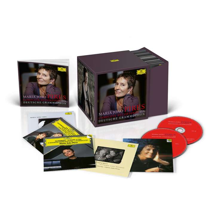 Deutsche Grammophon выпустила полную дискографию пианистки Марии Жоау Пиреш