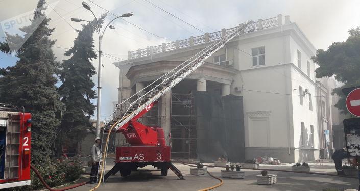 Филармония в Кишиневе серьезно пострадала от пожара