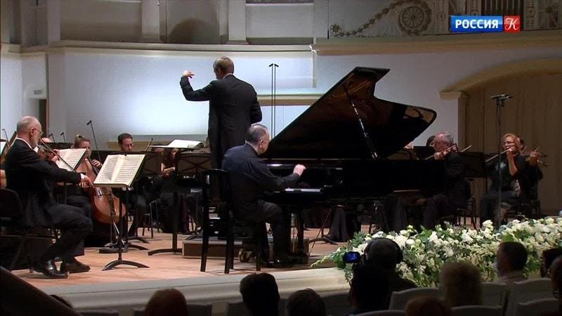 ارکستر ملی روسیه جشنواره بزرگ را در مسکو افتتاح کرد