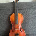 Скрипка работы мастера Фомина