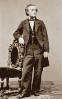 Рихард Вагнер в 1865 г.