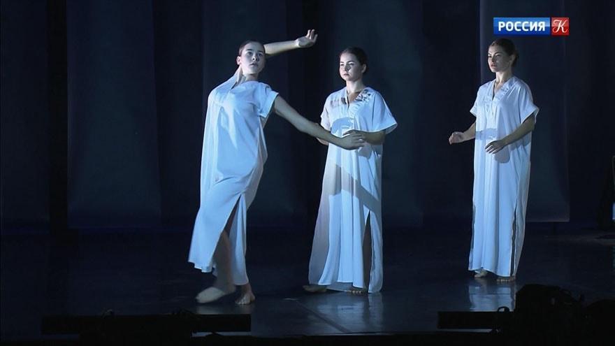 هشتمین جشنواره بین المللی افتتاح شد زمینه تنظیم رقص مدرن. دیانا ویشنوا