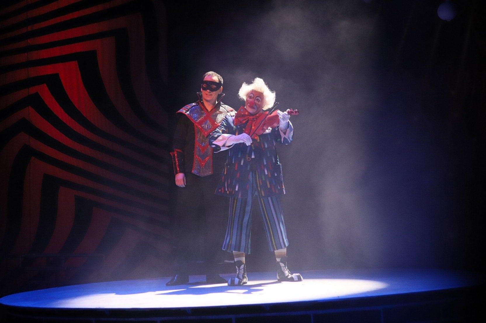 """И. Кальман """"Принцесса цирка"""". Мистер Икс - Андрей Ковалёв, Пеликан - Геннадий Муралёв"""