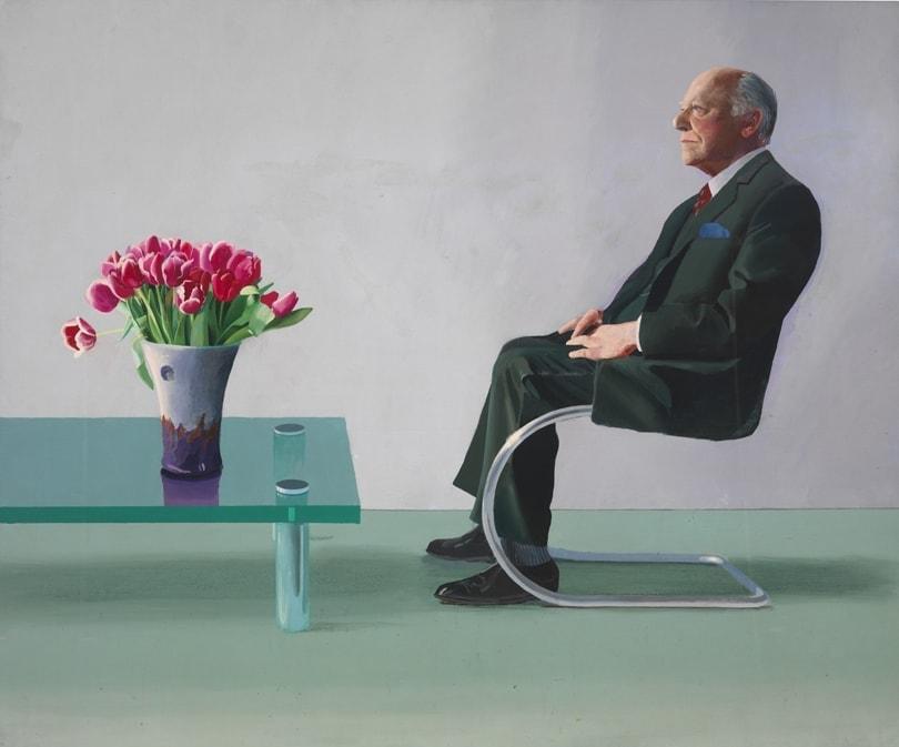 """Дэвид Хокни. """"Портрет сэра Дэвида Уэбстера"""" (1971)"""