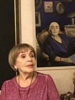 Клара Кадинская и Мария Мирзоева. Портрет работы В. В. Сачкова