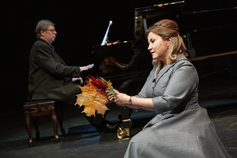 Эльвина Муллина и Александр Онькин. Фото - Елена Лапина
