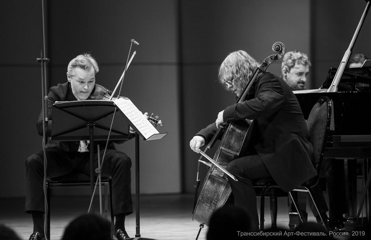 Вадим Репин (скрипка), Александр Князев (виолончель), Константин Лифшиц (фортепиано)