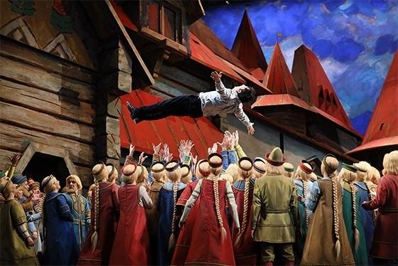 Сцена из оперы «Садко». Фото - Дамир Юсупов / Большой театр