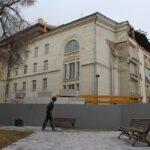 Саратовский театр оперы и балета во время реконструкции