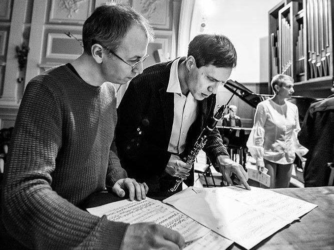 Михаил Спасский и Игорь Федоров. Фото - Ира Полярная
