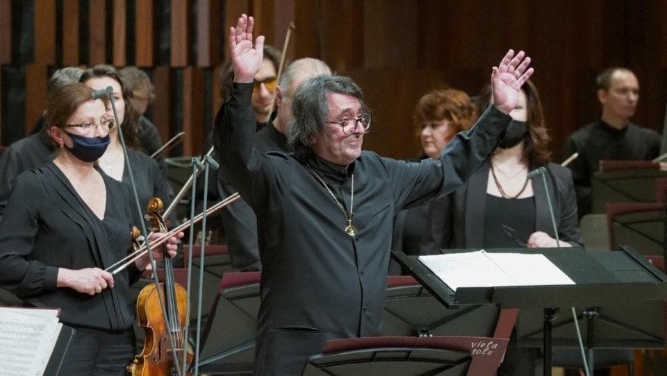 Маэстро Юрий Башмет отметил 30-летие оркестра «Новая Россия» посвящением Бетховену