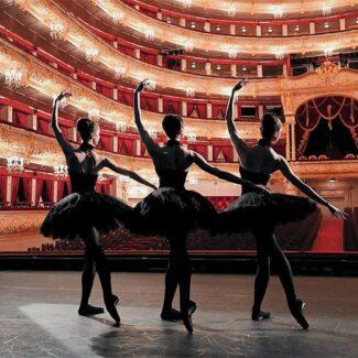 Балерины на сцене Большого театра