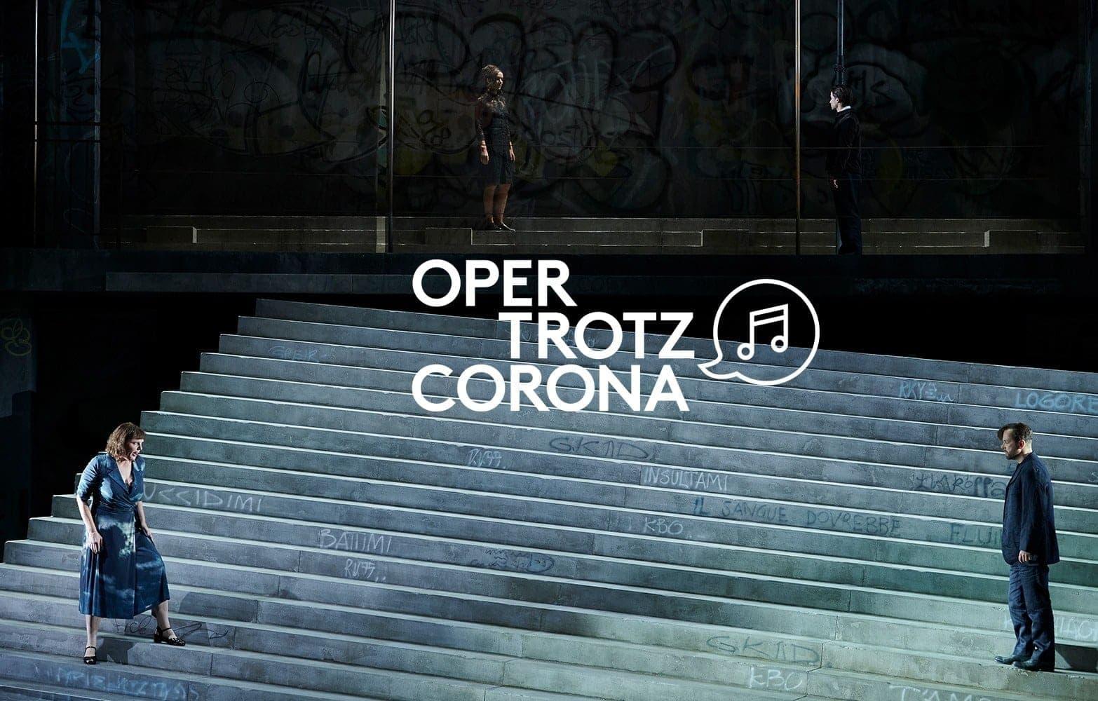 Сцена из оперы «Сельская честь» в постановке Барбары Фрай.  Фото - Matthias Baus