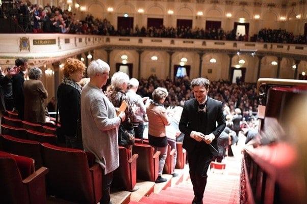 Станислав Кочановский. После концерта в Амстердаме. Фото - Simon Van Boxtel