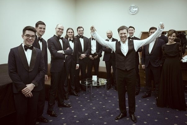 После концерта с МГАСО. Фото — Евгений Евтюхов