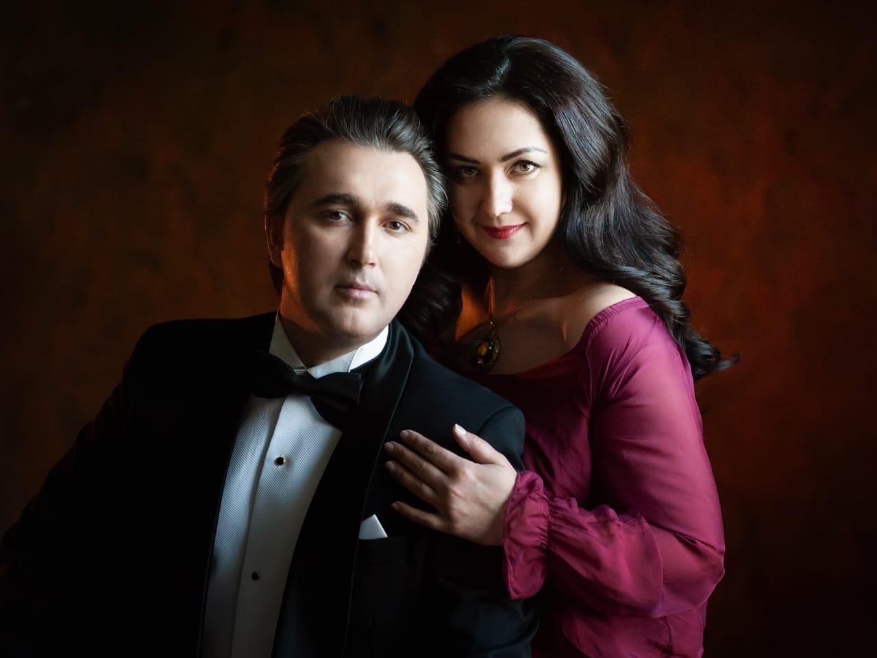 Агунда Кулаева и Алексей Татаринцев