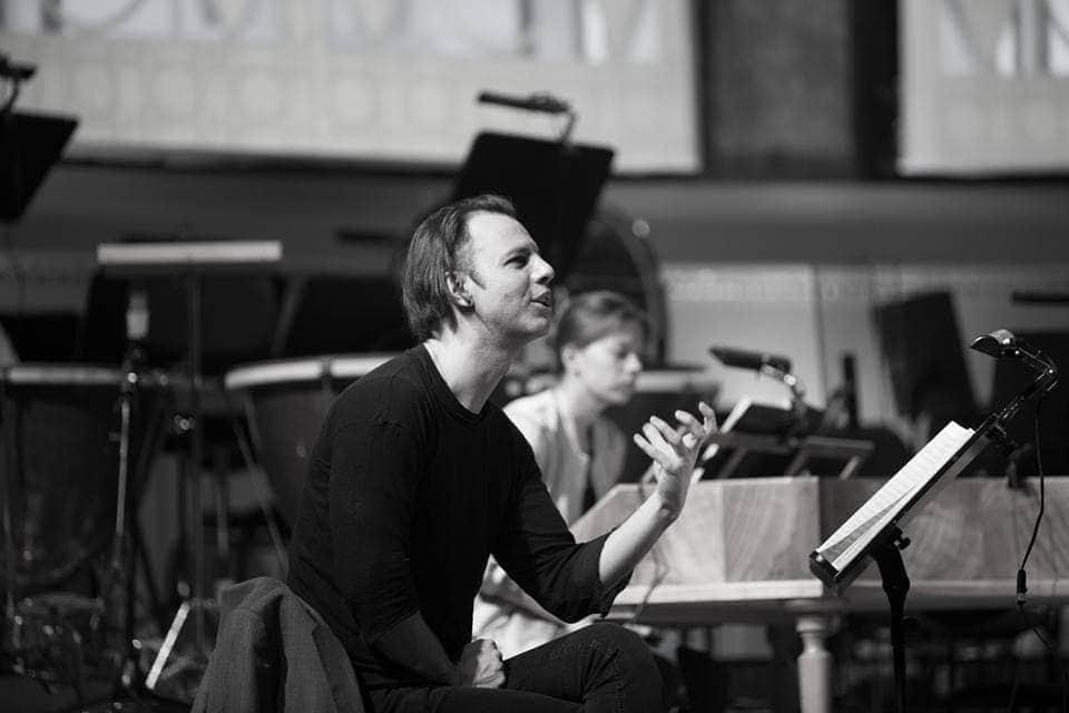 Мария Шабашова на репетиции с Теодором Курентзисом