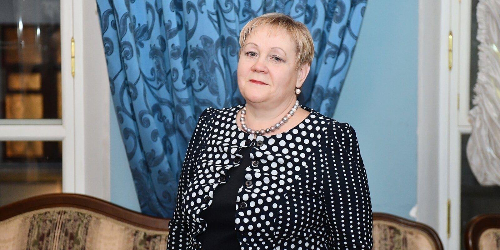 Марина Гвоздева. Фото - Ю. Иванко