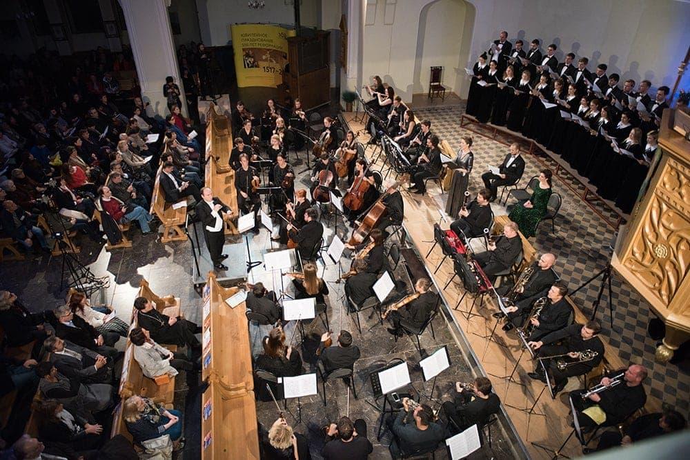 в Евангелическо-лютеранском Кафедральном соборе свв. Петра и Павла пройдет традиционный Рождественский концерт Посольства Германии