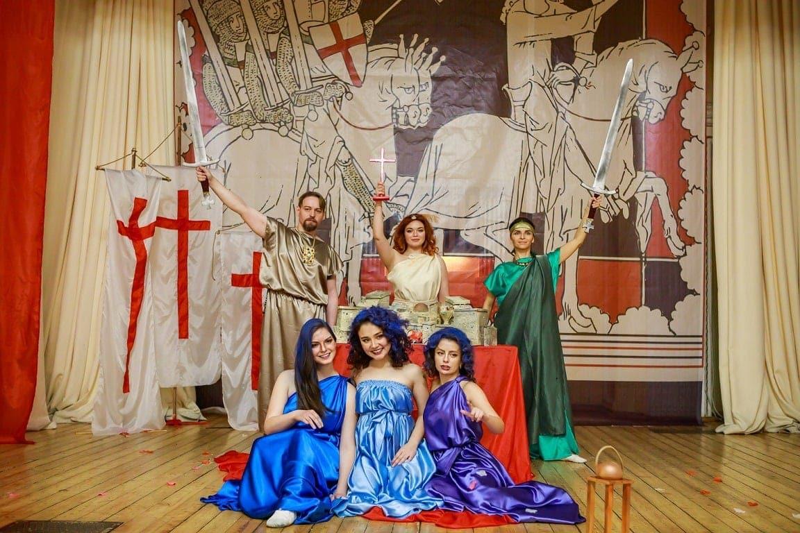 Солисты лаборатории «New Opera World» - опера Генделя «Ринальдо»