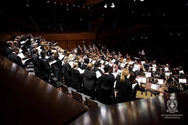 Концерт в Риме с оркестром Академии Санта-Чечилии.Фото - Riccardo Musacchio