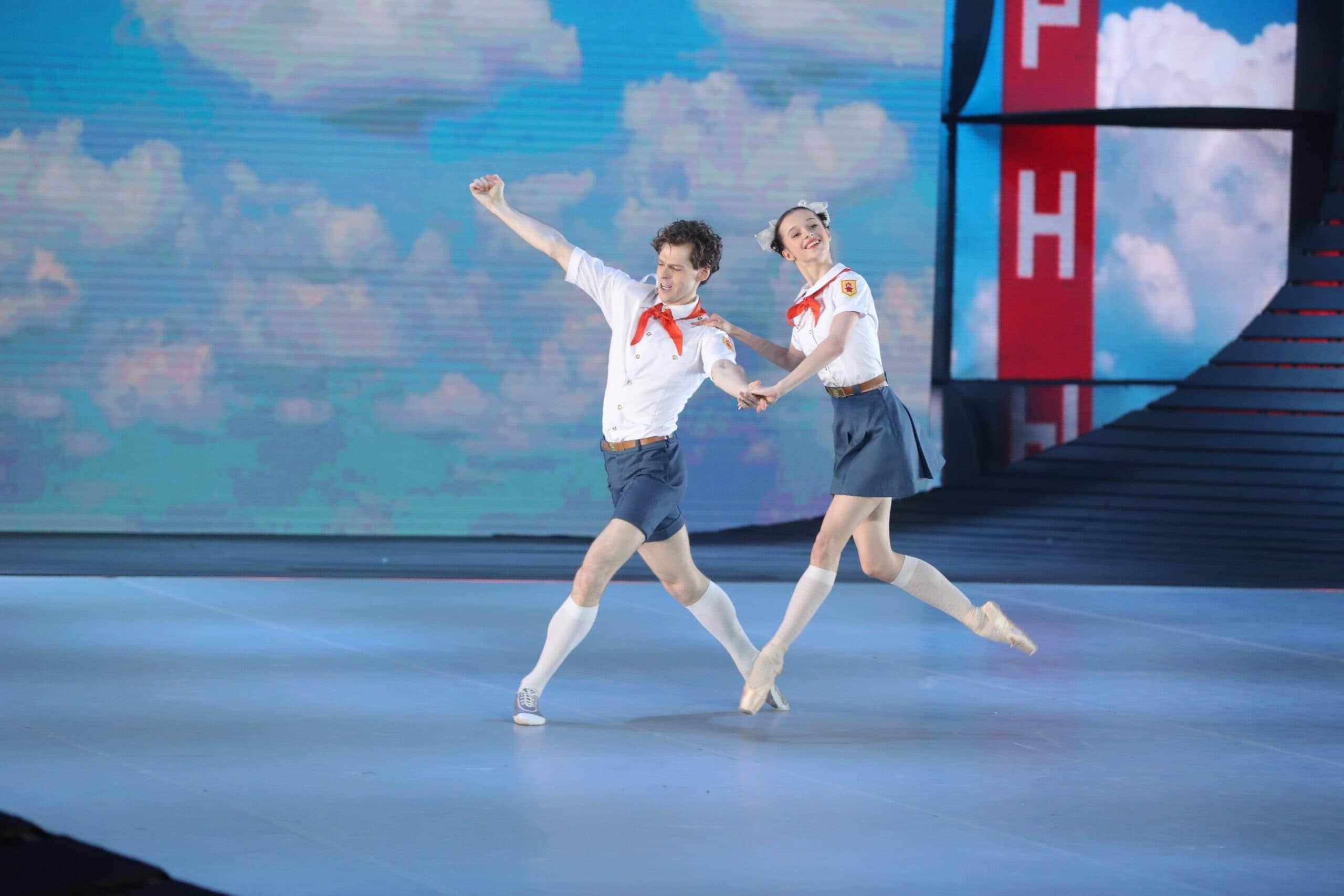 Владимир Шкляров и Мария Хорева. Фото - Вадим Шульц