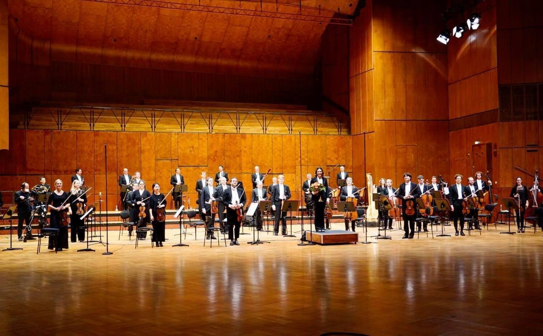 Концерт оркестра Штутгартской оперы в зале Лидерхале