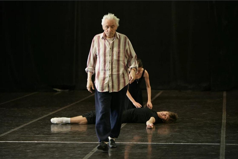 "Юрий Григорович на репетиции балета ""Ромео и Джульетта"". Фото - Дамир Юсупов"