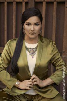 Анна Нетребко. Фото предоставлено пресс-службой Мариинского театра