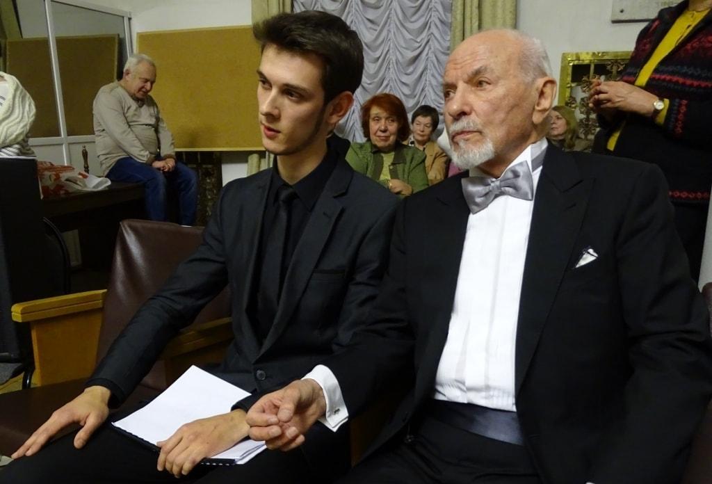 Тимофей Гольберг и Владимир Минин
