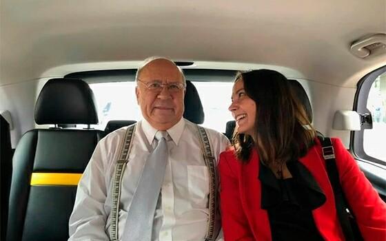 Неэме Ярви и Наталья Слободырева. Фото из личного архива Натальи Слободыревой