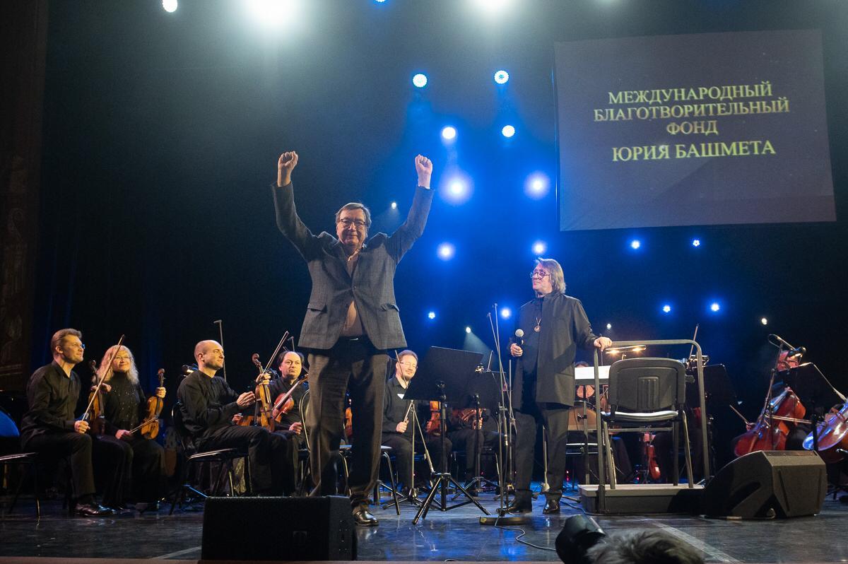 Александр Чайковский и Юрий Башмет. Фото - Алексей Молчановский