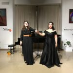 Альбина Латипова и Анна Генюшене