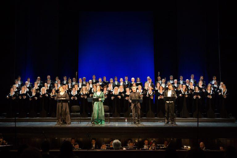 В московской «Новой опере» завершился Крещенский фестиваль. Фото - Даниил Кочетков