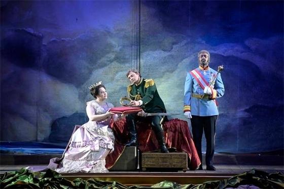Сцена из спектакля «Аида» © Vincent Pontet / Opéra national de Paris