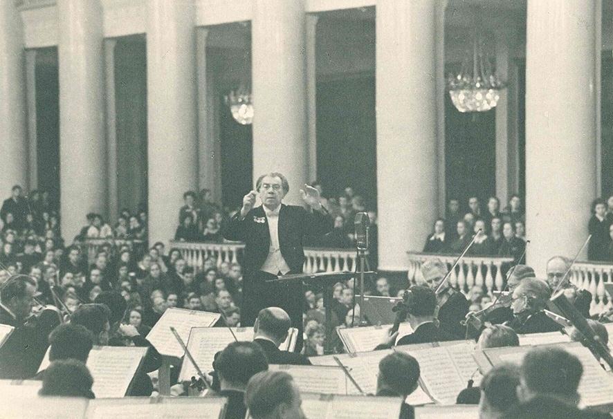 Рейнгольд Глиэр. 20 декабря 1952 г. Большой зал филармонии (из фондов Музыкальной библиотеки Санкт-Петербургской филармонии)