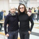 Владимир Кехман и Фарух Рузиматов. Фото - сайт НОВАТа