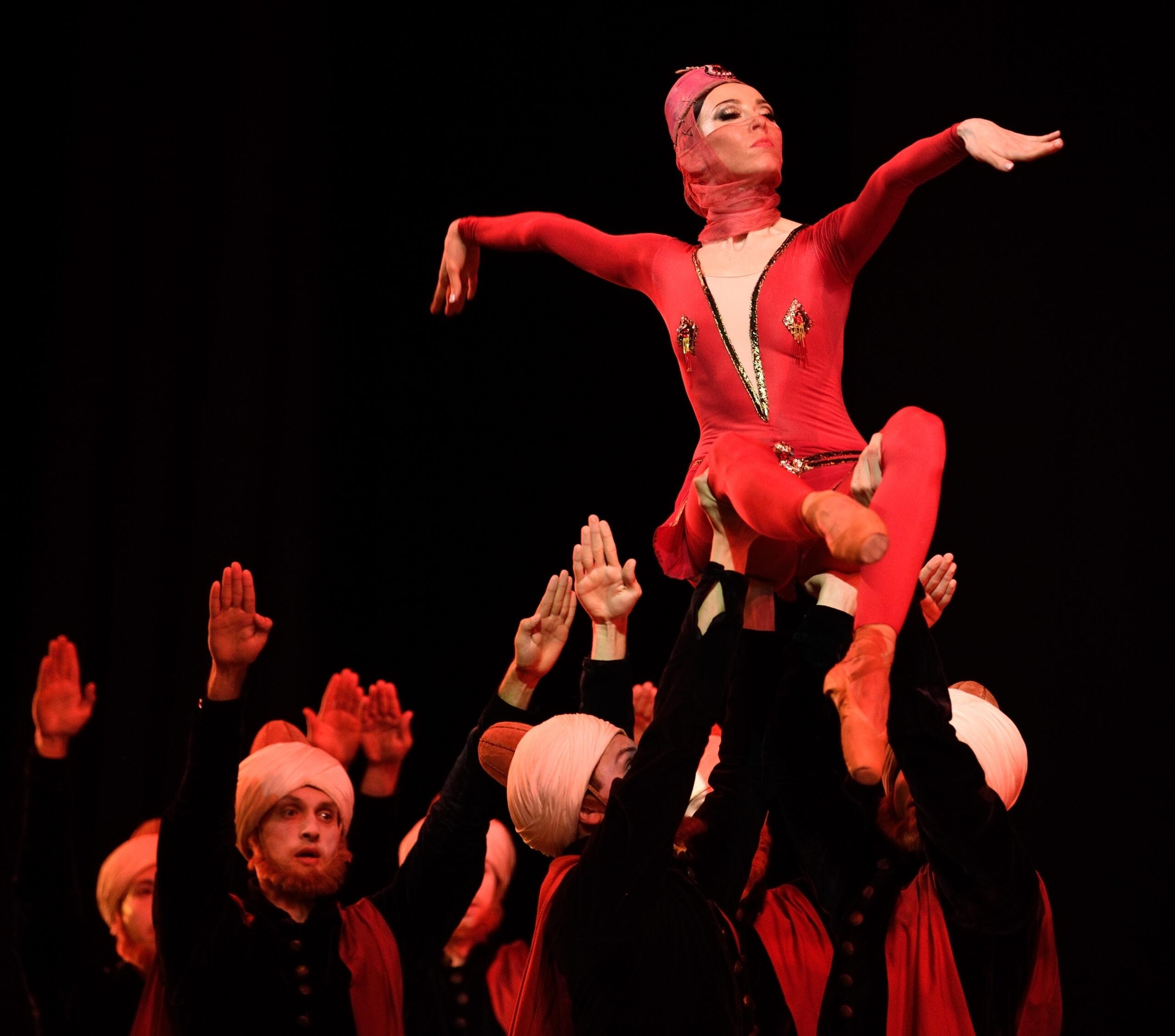 Балет «Легенда о любви» в Мариинском театре. Фото - Ирина Туминене