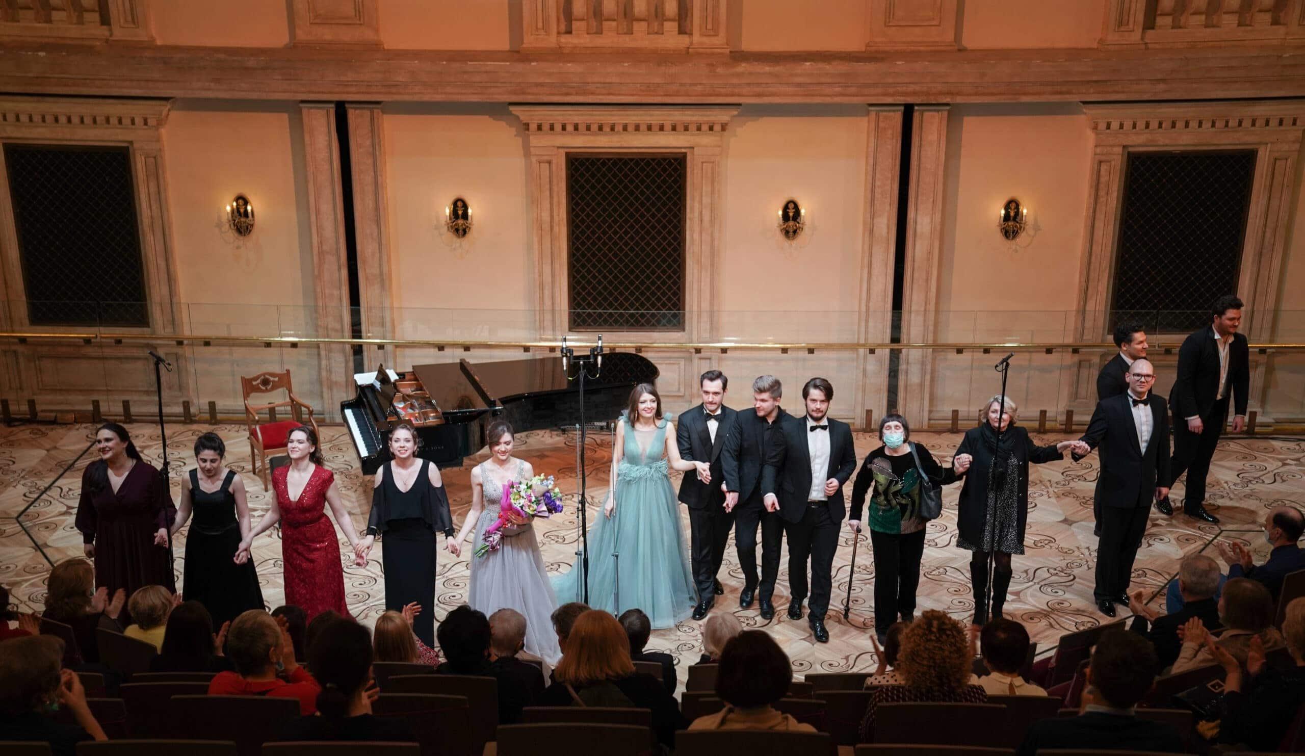 Вечер вокальной лирики Рубинштейна и Аренского отМолодёжной оперной программы Большого театра. Фото - Павел Рычков