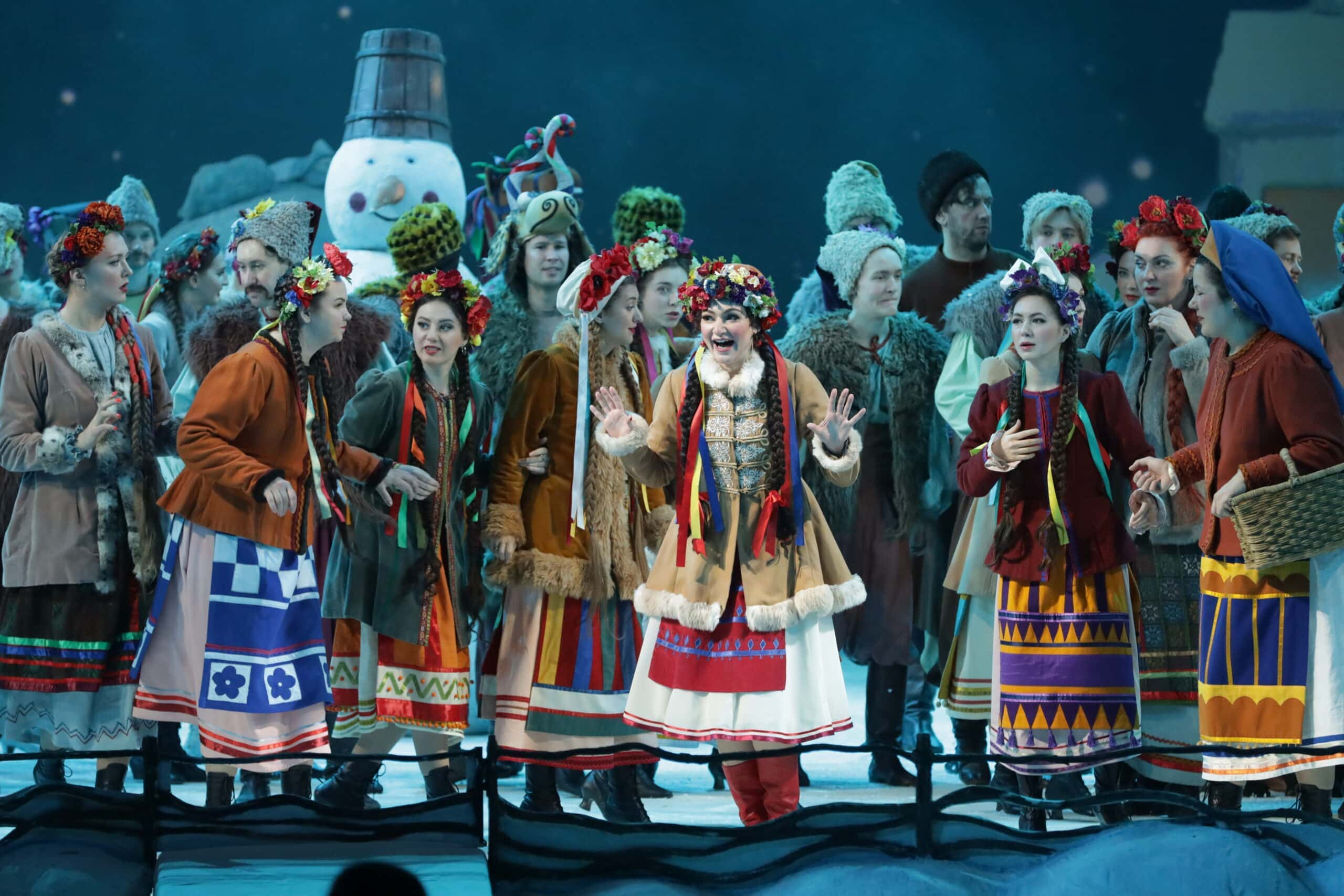 """""""Ночь перед Рождеством"""" в Мариинском театре. Фото - Наташа Разина"""