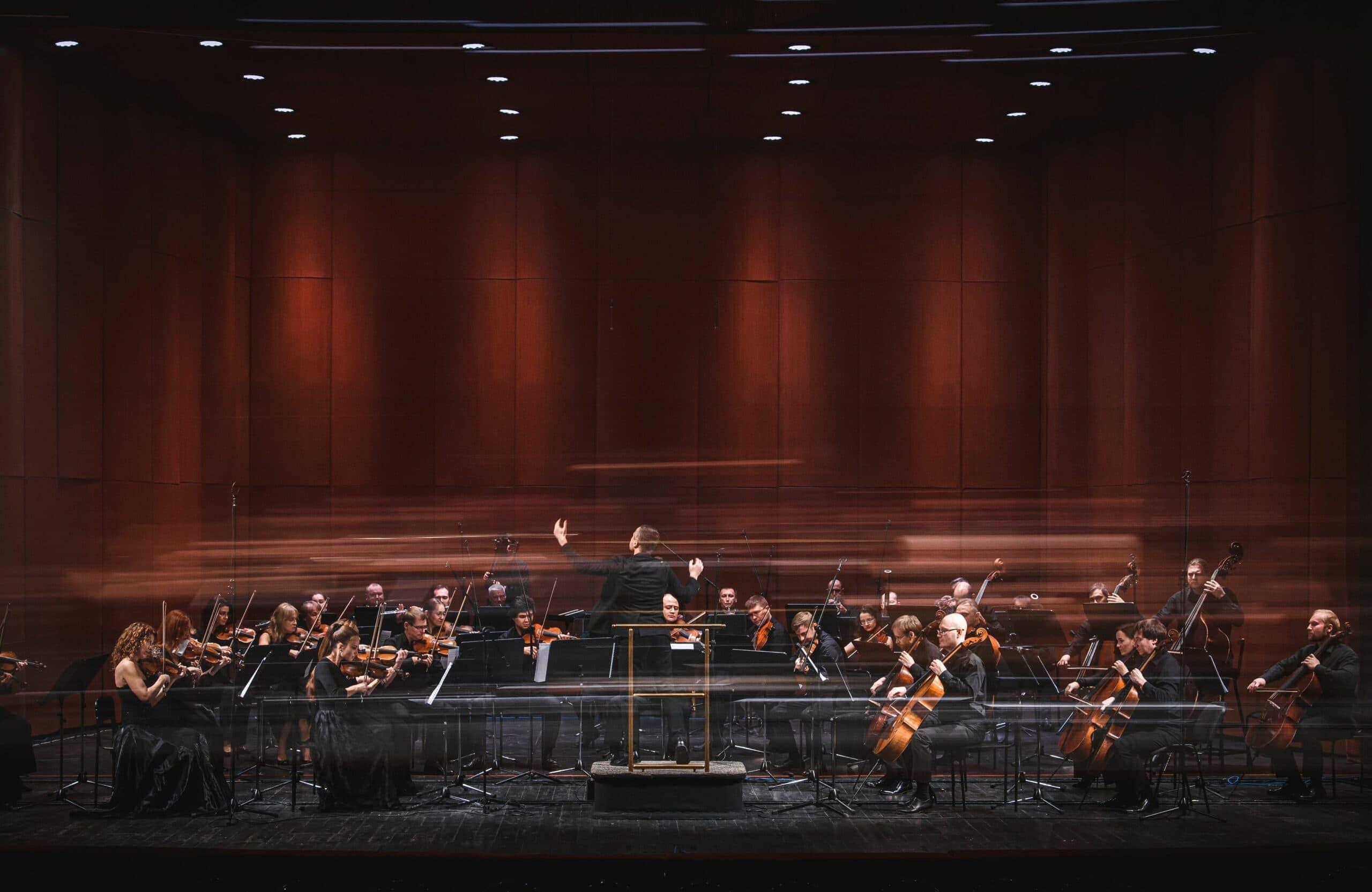 Оркестр Пермского театра оперы и балета. Фото - Андрей Чунтомов