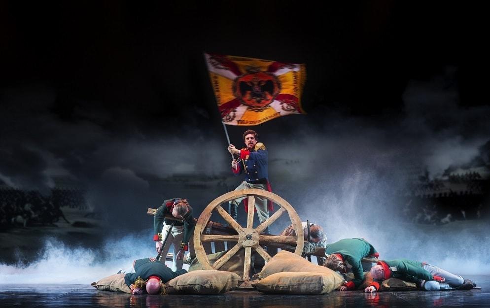 """Сцена из оперы-драмы Алексея Рыбникова """"Le Prince Andre. Князь Андрей Болконский"""""""