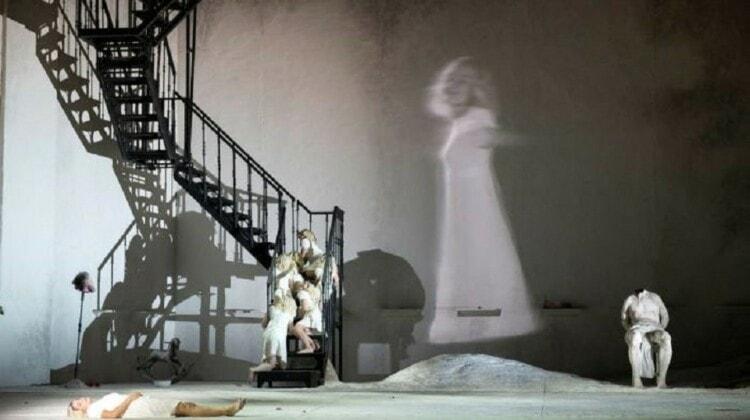 Сцена из оперы Рихарда Штрауса «Саломея», постановка Большого театра