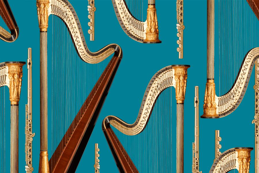 Фестиваль флейты и арфы открывается в Мариинском театре
