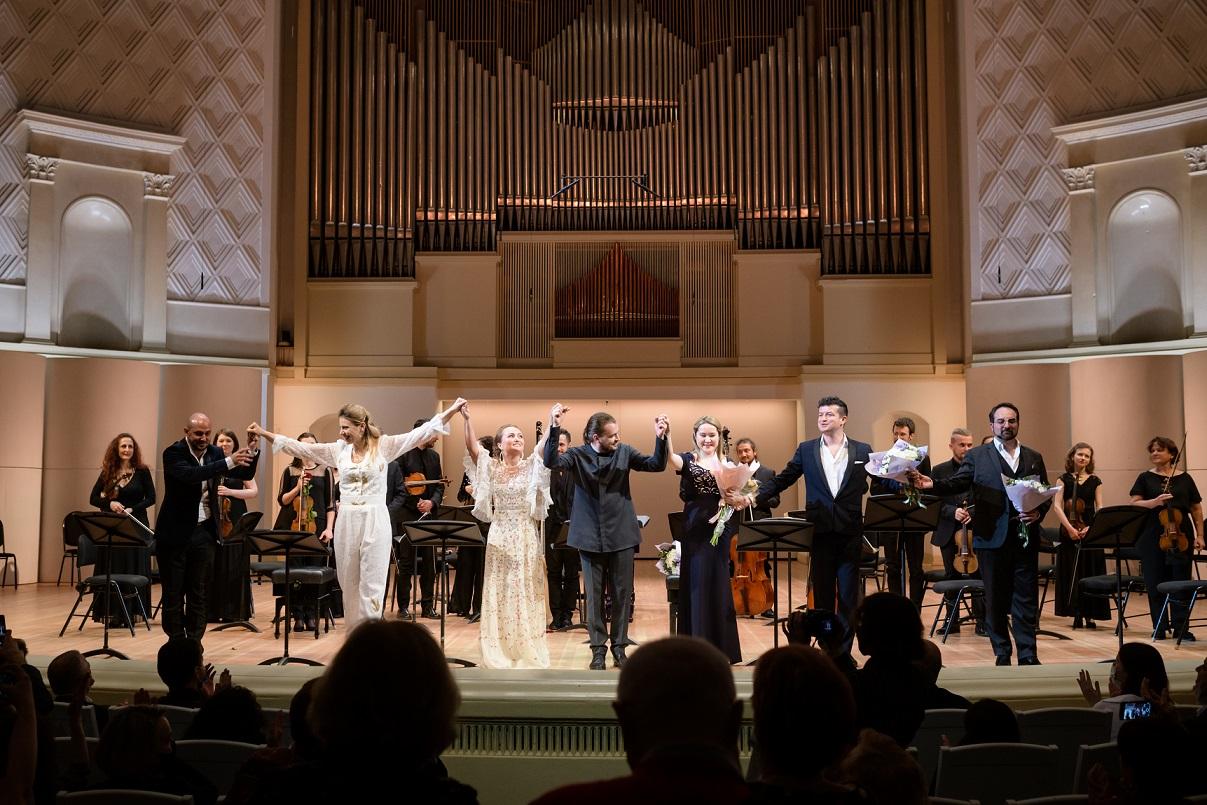 В Концертном зале имени Чайковского представили оперу Генделя «Орест». Фото - МГАФ