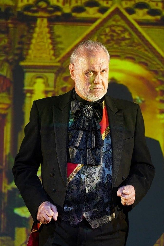 Сергей Лейферкус - Скарпиа. Фото -Виктор Васильев