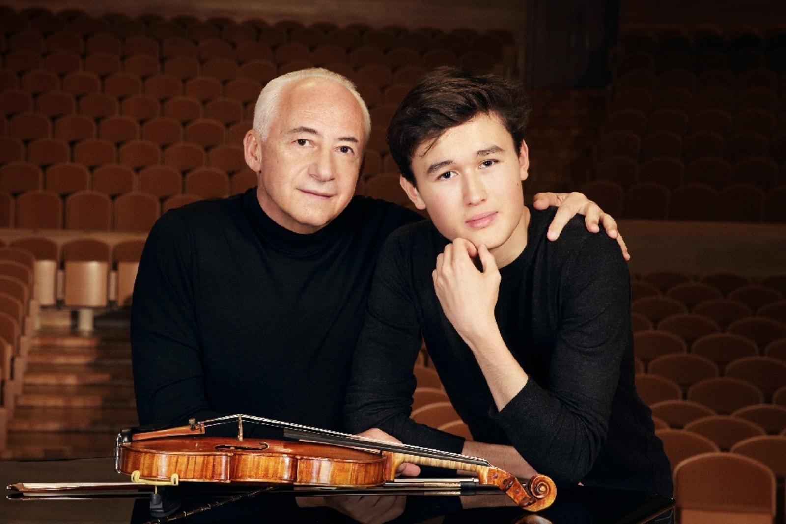 Владимир Спиваков и Даниэль Лозакович