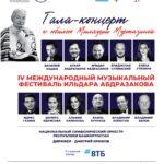 В Уфе открывается IV Международный музыкальный фестиваль Ильдара Абдразакова